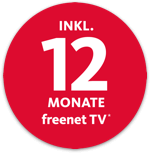 12 Monate freenet TV*